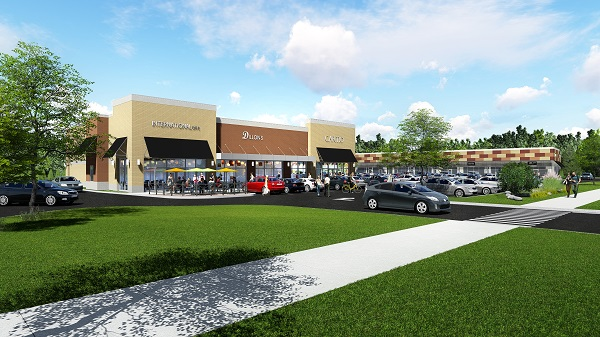 Auburn Crossing Redevelopment Completed