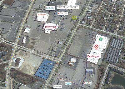 Westland Shopping Mall Acreage Available