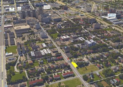 Detroit Vacant Land in New Center Area
